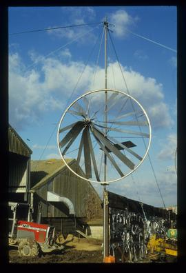 Modern wind engine(s), Wind pump museum, Repps with Bastwick