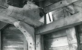 Wooden Bracket, smock mill, Fulbourn