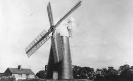 Tower mill, Stretham, in a working condition