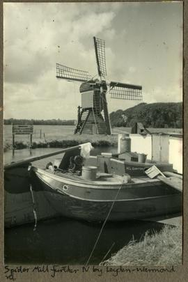 Spider Mill further N. by Leyden (Leiden)-Warmond rd.