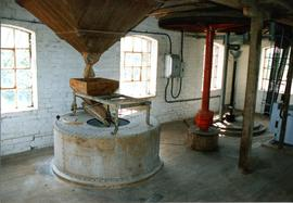 Millstone and machinery, watermill, Layham