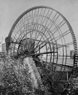 Waterwheel, Flax Mill And Iron Foundry, Bourton