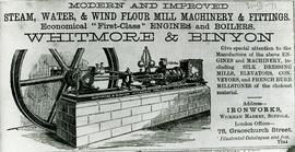 Whitmore and Binyon Advertisement
