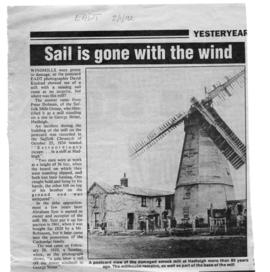 """Sail is gone with the wind"""