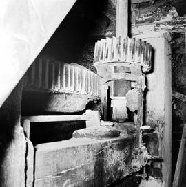 Spur wheel and stone nut, Upwey Mill, Upwey