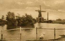 Wind, steam and water mill, Kennington, from over the river