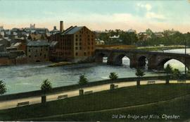 Old Dee Bridge and Mills, Chester