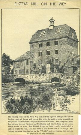 """Elstead Mill on the Wey"""