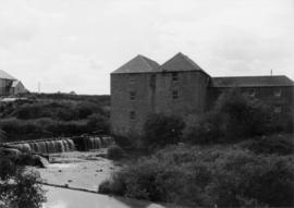 Heatherslaw Mill, Ford, and wier from across river