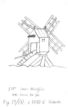 Medieval Windmill Drawing 63930 | NOTEFOLIO