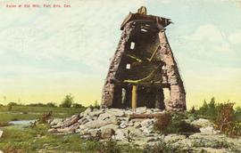 Silas Calter mill in ruins