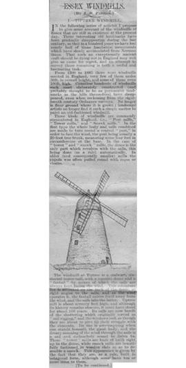 """I. Tiptree Windmill"""