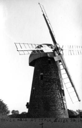 Tower Mill's Sail at Stock, Essex