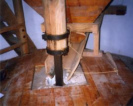Photograph of the stone set up, Elphin windmill, Roscommon, Ireland