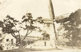 Mill working with people, Barbados