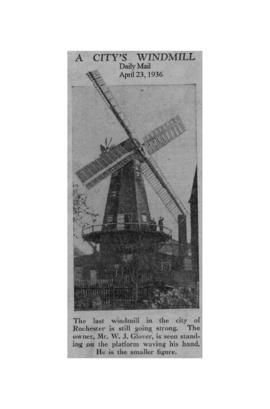 """A city's windmill"""