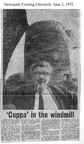 """ 'Cuppa' in the Windmill"""