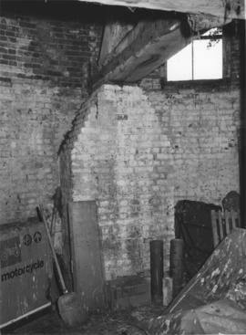 Interior of roundhouse, Harebeating Mill, Hailsham