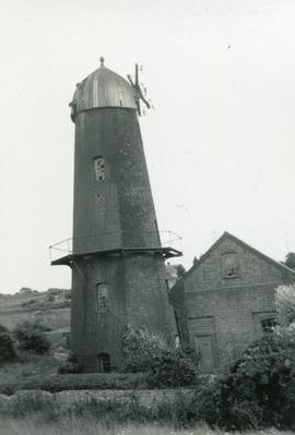Pumping Mill, East Blatchington, derelict