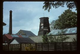 French's Mill, Chesterton, Cambridge, derelict, without cap, sails or windshaft