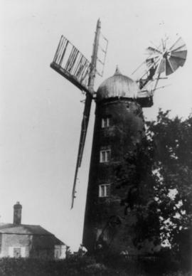 Whaplode Mill Exterior-working