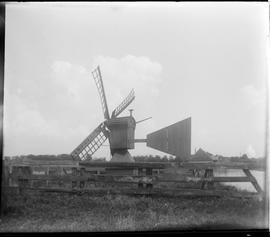 Drainage mill, Westzaan, North-Holland