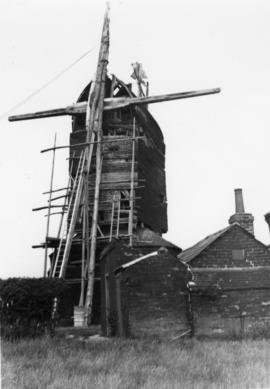 Icklesham post mill, Sussex