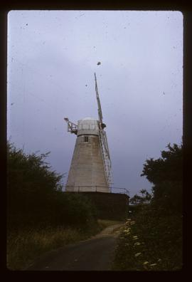 Cherry Clack Mill, Punnett's Town, preserved with two sails