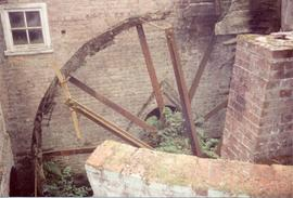 Remains of waterwheel, Slip Mill, Hawkhurst, Maidstone