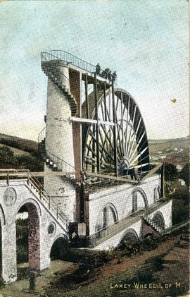 Laxey Wheel, I. of M.