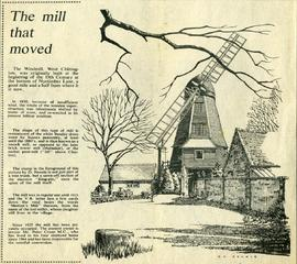 """The mill that moved"""