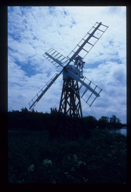 Boardman's Mill, Ludham, restored with sails