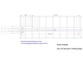 Sail Layout: working uplongs