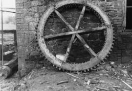 Lodsbridge Mill spur wheel, West Sussex