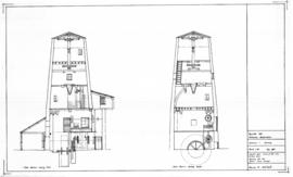 Doolittle Mill, Totternhoe: Sections as existing