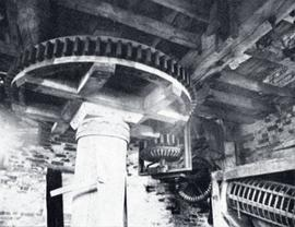Gearing, tower mill, South Leverton