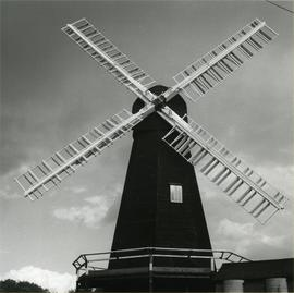 Davison's Mill, Stelling Minnis, showing sweeps in detail