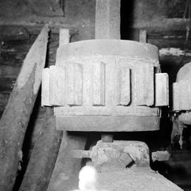 Detail of stone nut, Affpuddle Mill, Affpuddle