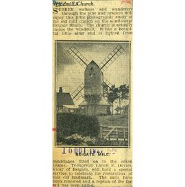"""Windmill church"""