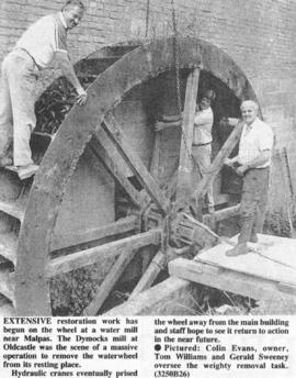 Restoration effort at watermill begins