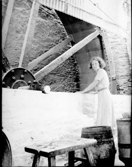 Wheel of unidentified watermill