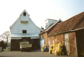 Deben Mill, Wickham Market, with outbuilding