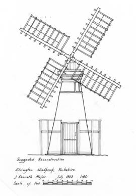 Elvington Windpump: Reconstruction