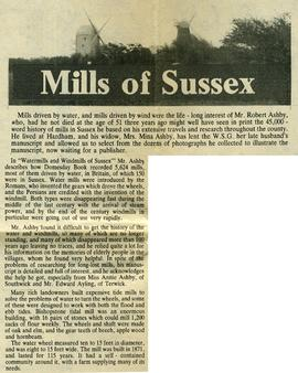 """Mills of Sussex"""