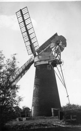 Stracey Arms Mill, Tunstall, in working order