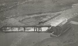 Aerial view of pumping wheel, Tepper Moor Pumping Wheel, Simonburn