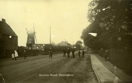 Station Road, Donington
