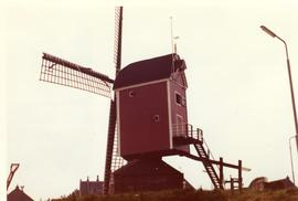 Working post mill at St Annaland, southwest Holland