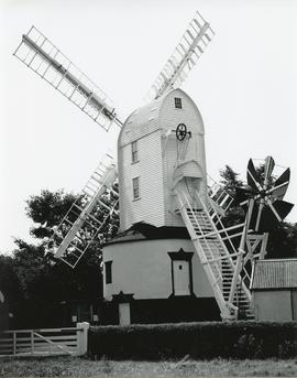 Saxtead Green Post Mill. Suffolk