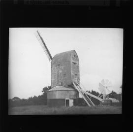 New Mill, Cross in Hand, with two sails